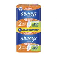 Always Ultra Normal plus №20 прокладки