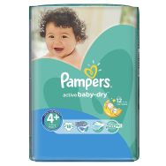 Pampers Active Baby-dry 4+ (maxi plus) №18 подгузники