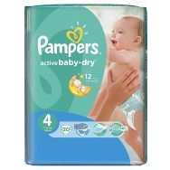 Pampers Active Baby-dry 4 (maxi) №20 подгузники
