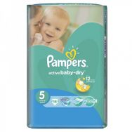 Pampers Active Baby-dry 5 (junior) №16 подгузники