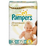 Pampers Premium Care 3 (midi) №60 подгузники