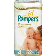 Pampers Premium Care 4 (maxi) №52 подгузники