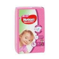 Huggies Ultra Comfort Girl 4+ (10-16 кг) №17 подгузники