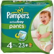 Pampers Active 4 (maxi) №23 трусики