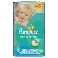 Pampers Active Baby-dry 5 (junior) №64 подгузники