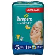 Pampers Active Baby-dry 5 (11-18 кг) №11 подгузники